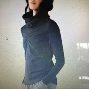 Lululemon athletic reversible cowl neck sweater.